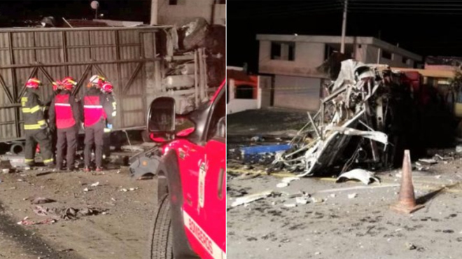 Dramatique accident d'autocar en Equateur: au moins 23 morts