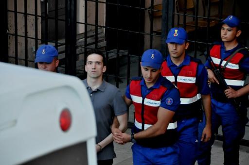 La libération de deux soldats grecs est