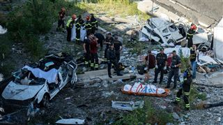 Effondrement d'un viaduc en Italie- 31 personnes ont perdu la vie selon le dernier bilan officiel 2