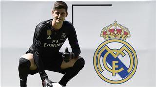 Real Madrid- Courtois ne devrait pas jouer la Supercoupe d'Europe 2