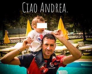 Ciao Andrea, Mon amie, je n'ai pas les mots, je n'arrive pas à y croire- les hommages se multiplient après le drame en Italie 3