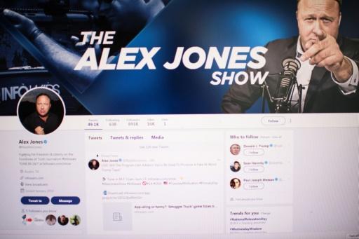 Twitter suspend une semaine le compte du conspirationniste américain Alex Jones