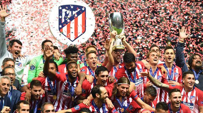 L'Atlético Madrid s'offre la Supercoupe d'Europe en claquant quatre buts au Real 1
