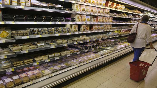 Les produits alimentaires retirés des rayons sont en hausse: