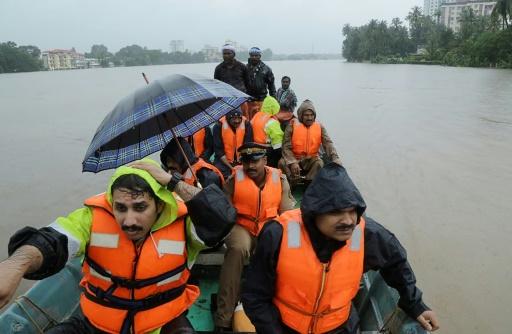 Inde: 77 morts dans les inondations dans le Kerala
