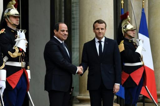 Macron et Al-Sissi soulignent