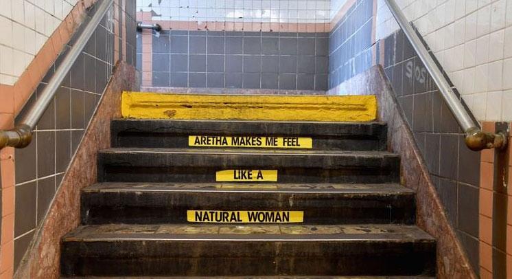 À New York, une station de métro dédiée à Aretha Franklin