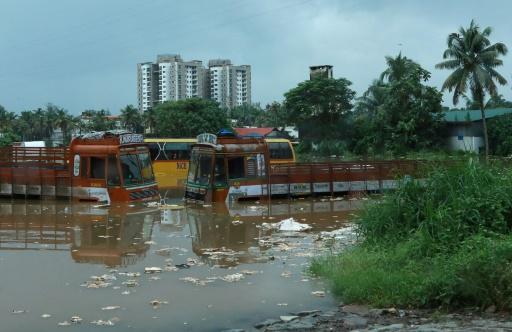 Inde: 164 morts dans les inondations dans le Kerala