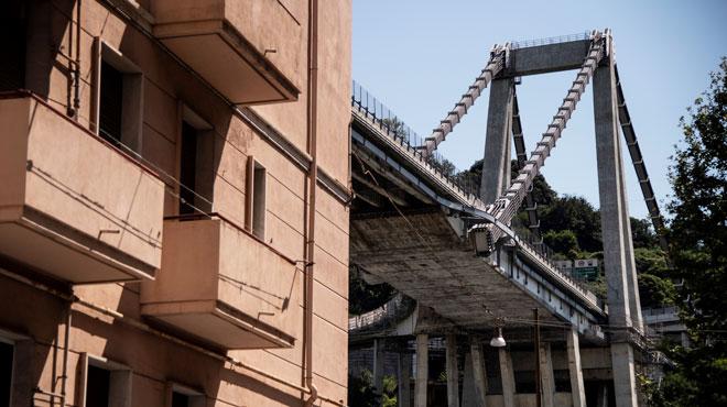 Viaduc effondré à Gênes: la réponse donnée il y a quelques mois par un commissaire fait polémique