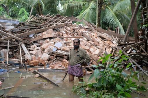 Inde : le bilan des inondations au Kerala bondit à 324 morts