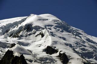 Mont-Blanc- l'irrespect atteint des sommets sur le toit de l'Europe