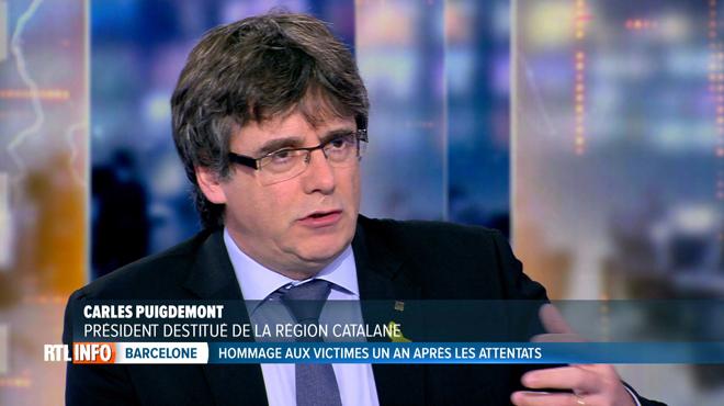 Carles Puigdemont, sur la liste européenne de la N-VA? L'indépendantiste catalan répond