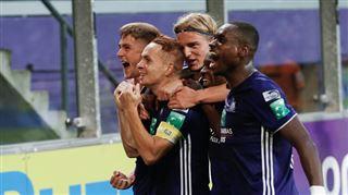 Anderlecht enchaîne une 4e victoire d'affilée contre Mouscron 4