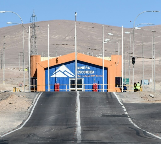 Chile: an agreement avoids an attack on the copper mine Escondida (official)