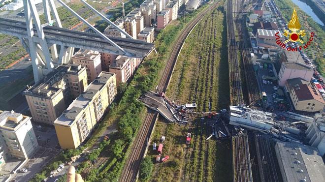 La société gestionnaire du pont de Gênes annonce vouloir débourser 500 millions d'euros pour aider la ville