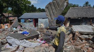L'île de Lombok à nouveau secouée par un violent séisme- Les gens ont commencé à crier et à courir dans les rues