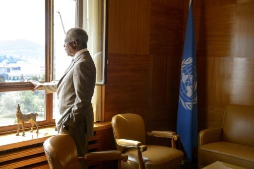 La Suisse, pays d'adoption de Kofi Annan, pleure un