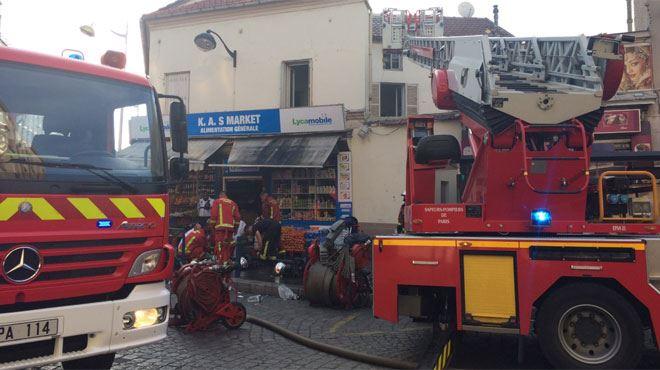 Grave incendie à Aubervilliers, en France- 19 blessés dont cinq policiers et cinq enfants dans un état d'urgence absolue 1