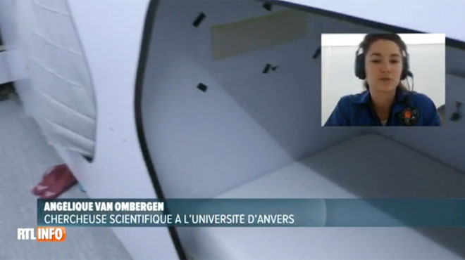 Une scientifique belge mène une simulation de mission vers Mars: