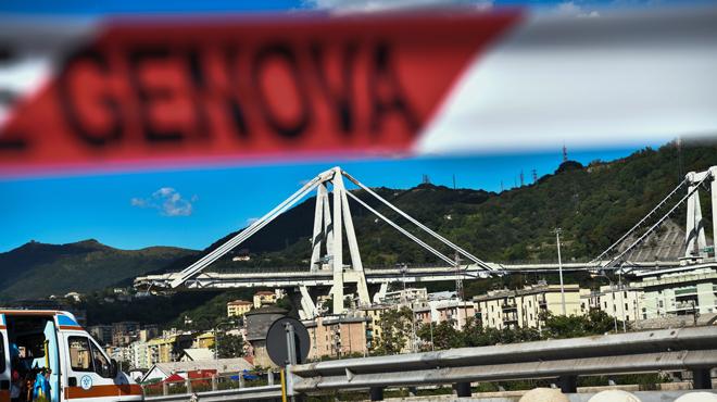 Des riverains du viaduc de Gênes entendent des