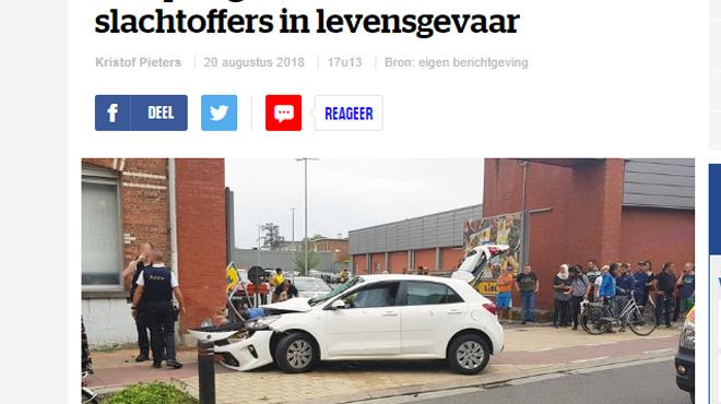 Un enfant de 5 ans décède dans un dramatique accident en Flandre: plusieurs personnes interpellées