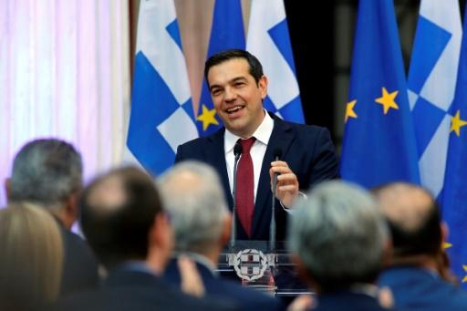 Grèce: Tsipras à Ithaque pour marquer la fin de l'Odyssée du sauvetage du pays
