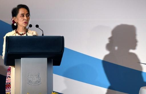 Le retour des Rohingyas en Birmanie dépend du Bangladesh, selon Aung San Suu Kyi