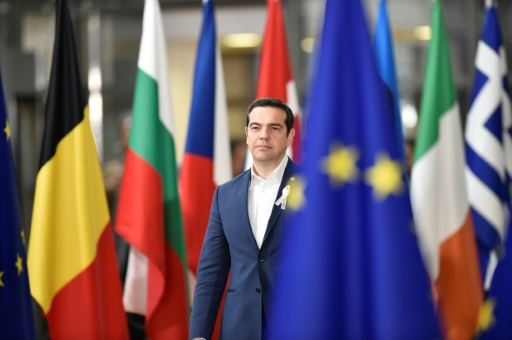 Grèce: Tsipras marque à Ithaque la fin de