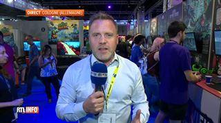 La Belgique a une place à prendre, mais la concurrence est difficile- le plus grand salon du jeu vidéo a lieu en ce moment en Allemagne 3