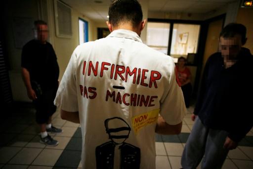 A Amiens, la longue mobilisation du personnel d'un hôpital psychiatrique