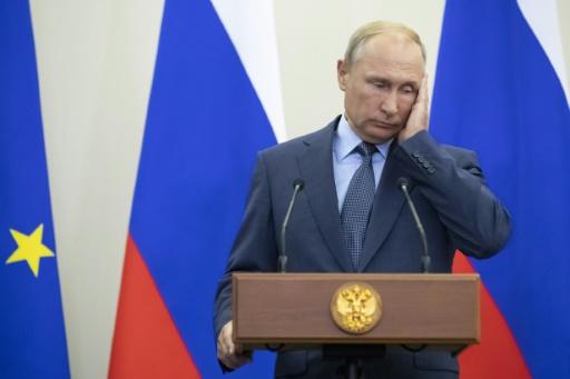 Poutine fustige les sanctions américaines