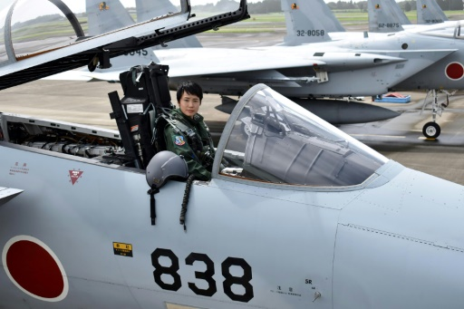 Japon: une femme pilote de chasse pour la première fois