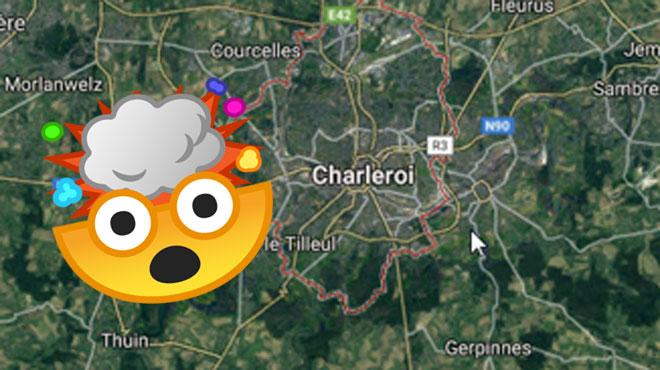 La région de Charleroi secouée ce matin: