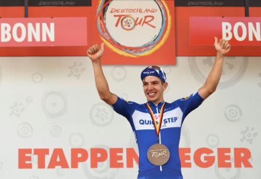 Cyclisme: le Colombien Hodeg premier leader du Tour d'Allemagne du renouveau
