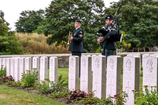 Quatre soldats canadiens de la Grande Guerre inhumés en France