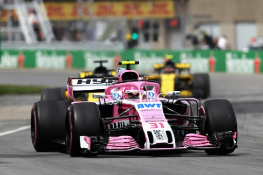F1: Force India, renommé Racing Point Force India, disputera la fin de saison