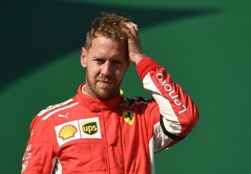 F1: Vettel ne doit pas laisser filer Hamilton au GP de Belgique