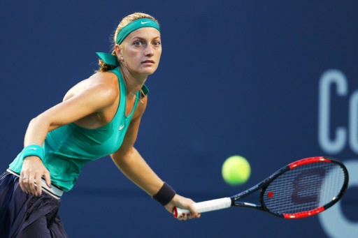 Tennis: Alert for Kvitova, touched on one shoulder in New Haven