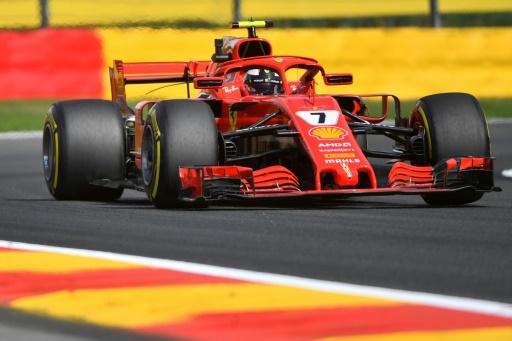 GP de Belgique: Räikkönen en tête, calvaire pour  Vandoorne