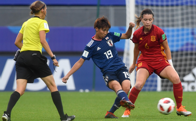 Coupe du monde de foot f minin le visage d 39 une joueuse espagnole d form par la force d 39 un coup - Coupe du monde de foot feminin ...