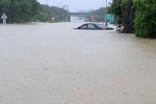 Taïwan : Tempête et inondations font six morts et des milliers d'évacués