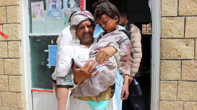 Yémen: 26 enfants tués par des frappes de la coalition