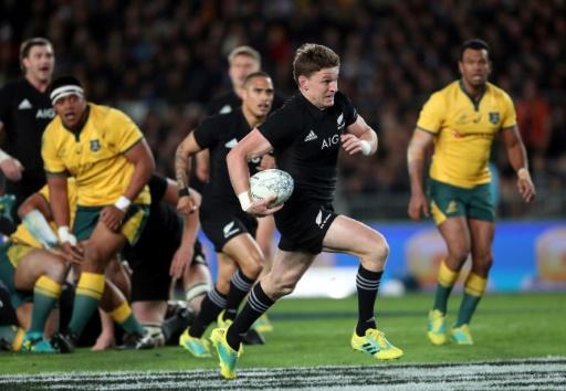 Rugby Championship: la Nouvelle-Zélande pulvérise encore l'Australie