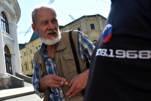 Russie: trois arrestations lors d'un rassemblement commémorant une manifestation de 1968