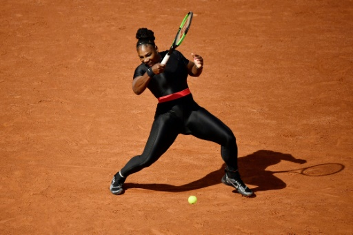Roland Garros: Serena Williams joue l'apaisement