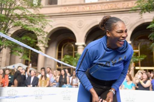US Open: Serena Williams plus motivée que jamais depuis la naissance de sa fille