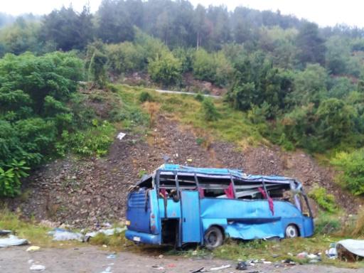 Bulgarie: 16 morts dans un accident d'autocar en Bulgarie