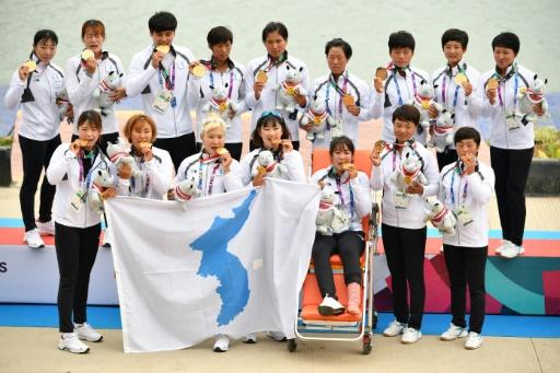 Jeux asiatiques: première médaille d'or pour la Corée unifiée