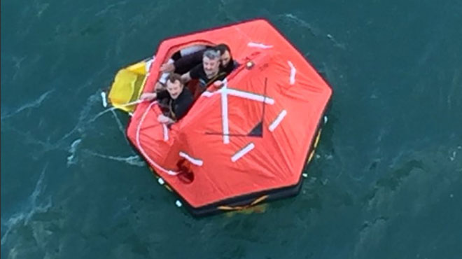 Un bateau belge coule au large du Royaume-Uni: deux membres d'équipage disparus retrouvés morts