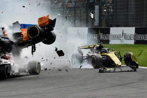GP de Belgique: Hülkenberg (Renault) pénalisé de 10 places sur la grille en Italie
